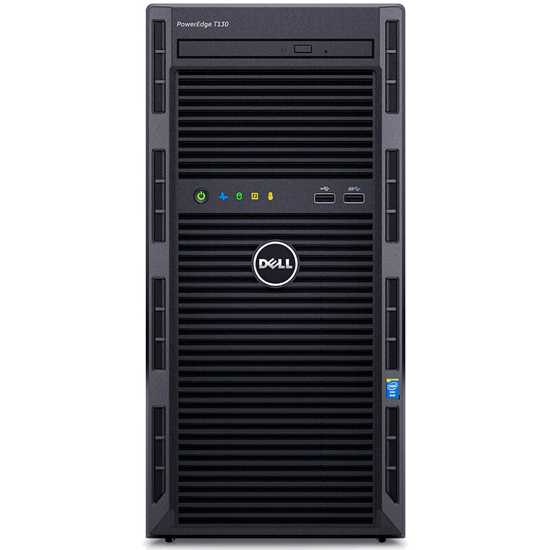 戴尔(DELL)T130 E3-1220V5/8G/1T SATA非热插拔/DVD/冷电290W