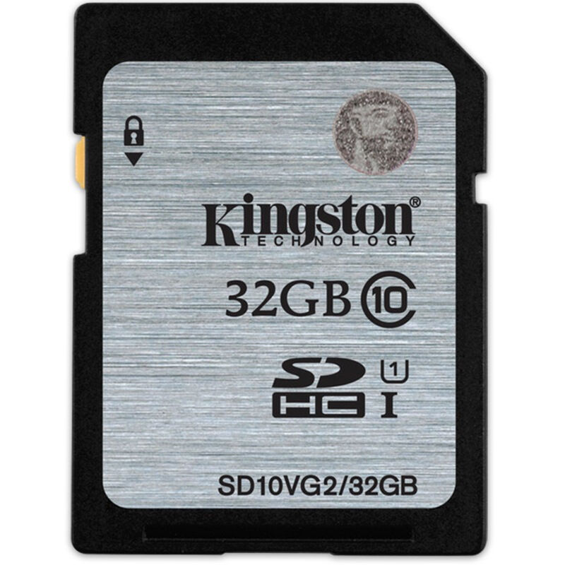 金士顿(Kingston)32GB 80MB/s SD Class10 UHS-I高速存储卡