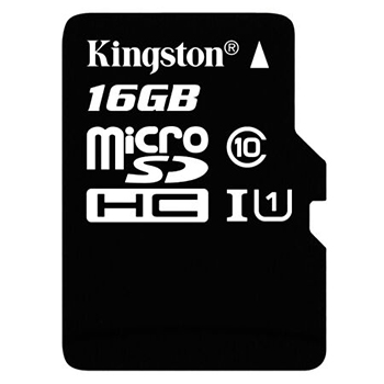 金士顿(Kingston)16GB 80MB/s TF(Micro SD)Class10 UHS-I高速存储卡